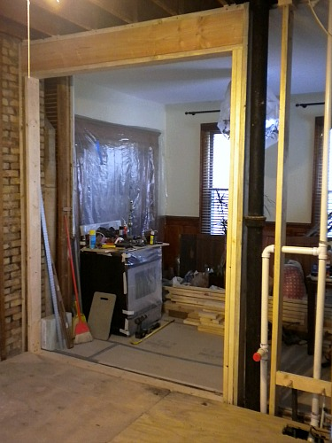 building a header for a load-bearing wall