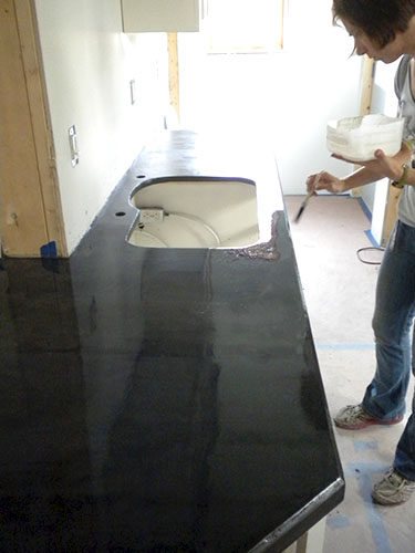 seal the Ardex countertop