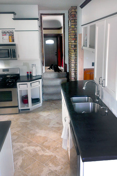 Diy Ardex Concrete Counters Sarah S Big Idea