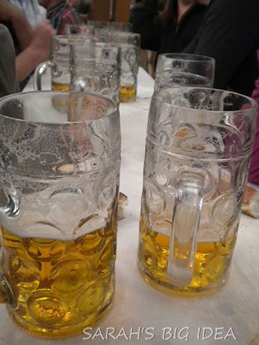 liters of beer.