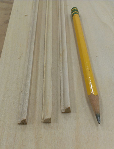 Making a beaded molding for raised-panel wainscoting 01-09-2014