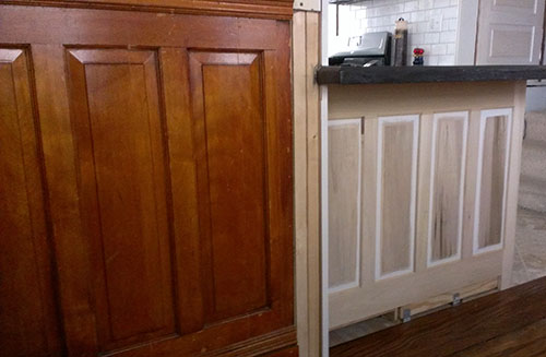 recreating original wainscoting 01-10-2014