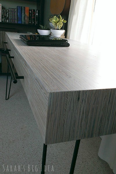plywood strip desk 3