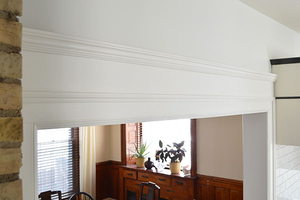 hand made crown molding