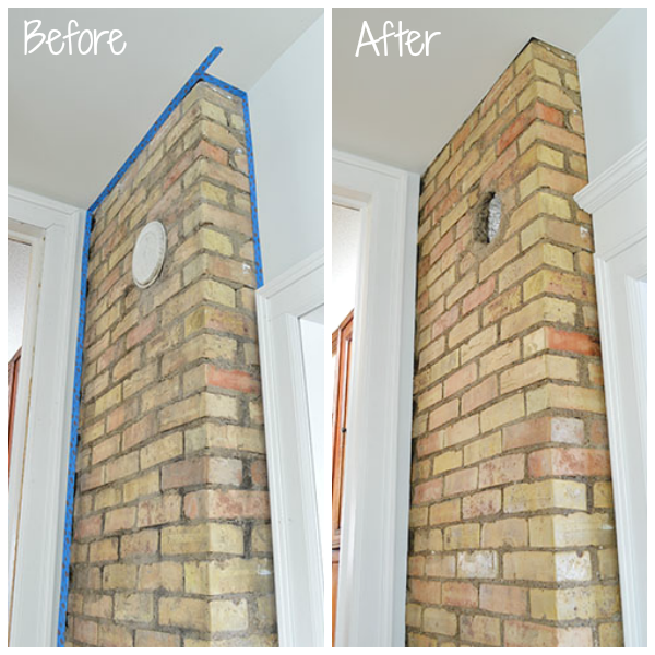 how to clean bricks