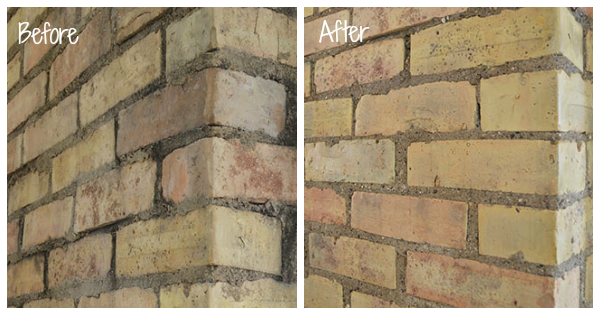 How to clean a brick chimney
