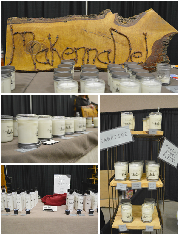 MakennaDel Nature Products: candles and lotions