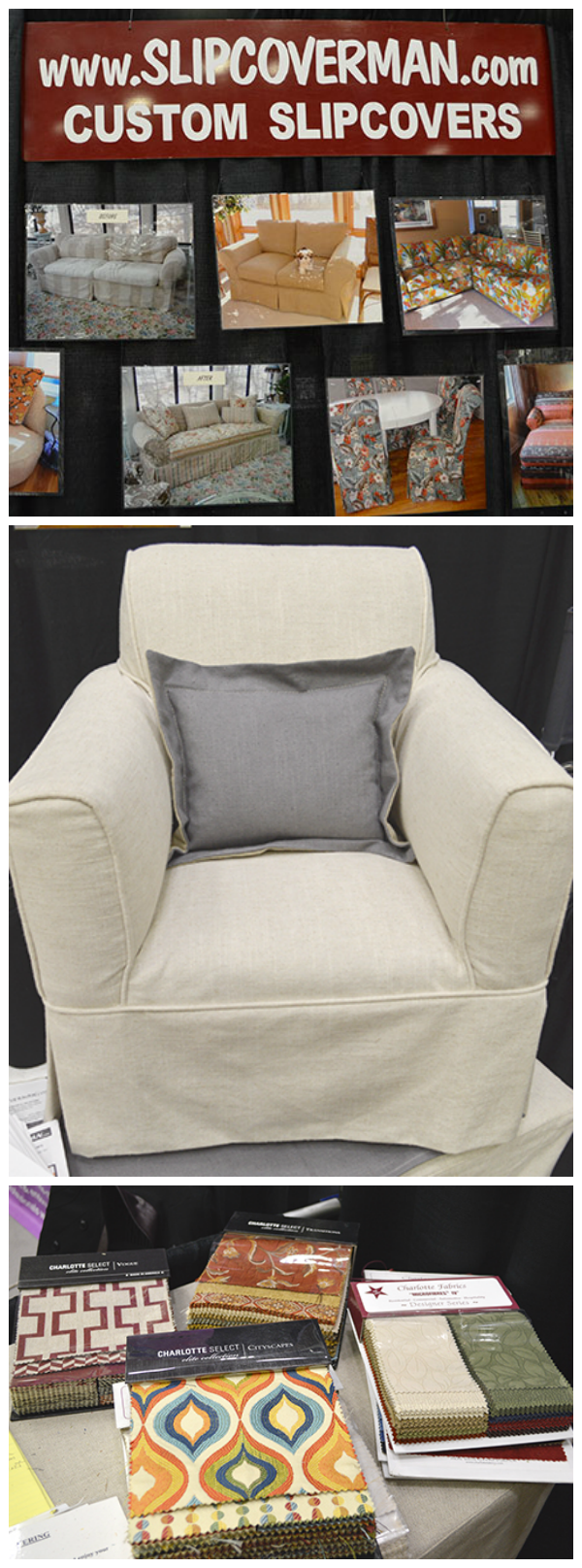 Slipcover Man: custom fitted slipcovers
