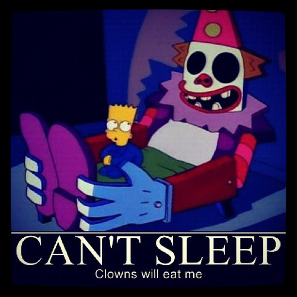 cant sleep clownll eat me