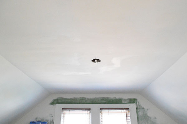drywall repair after scraping popcorn ceiling