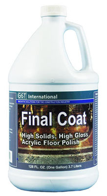 GST International Final Coat concrete topcoat