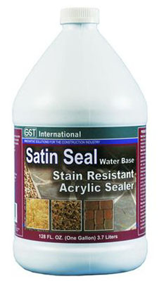 GST International Satin Seal concrete sealer