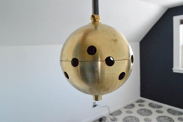how to make a microphone chandelier