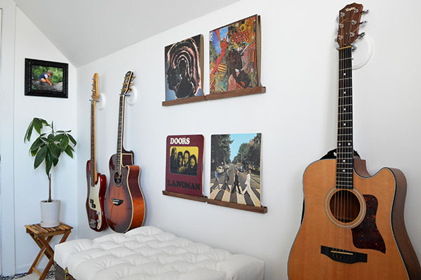 DIY music room makeover