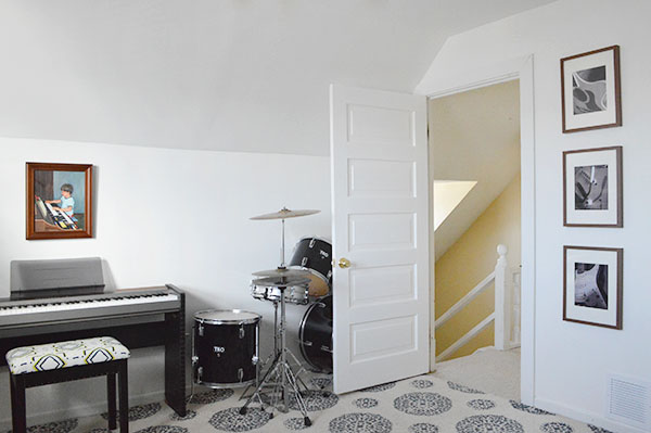 music room makeover
