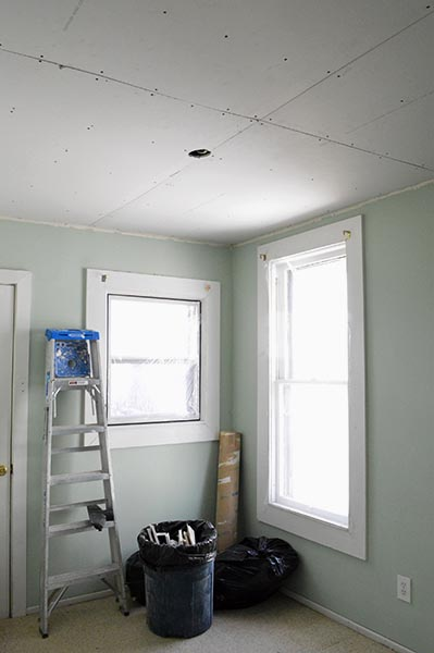 Gypsum Sheetrock Over Plaster : How to install a light fixture the hard way sarah s