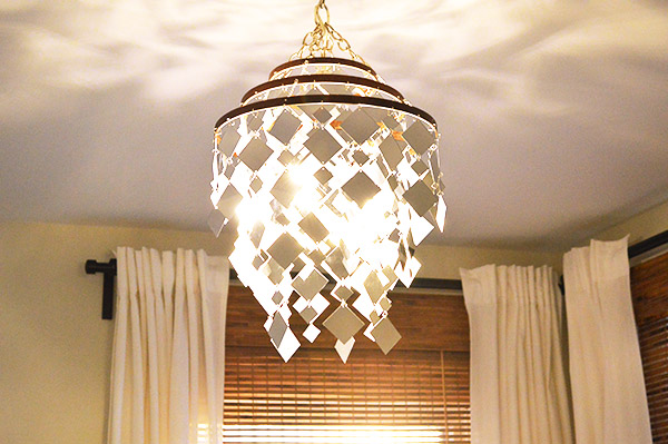 chandelier mirror stunning brown mirrored appealing glass ball