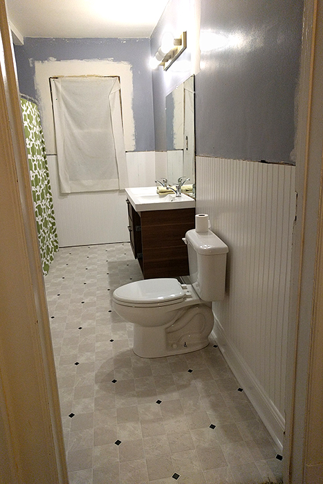 functional bathroom!