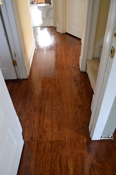 refinished original hardwood floors
